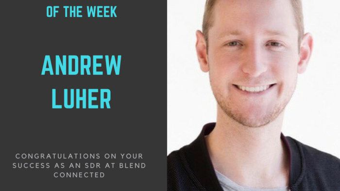 sales bootcamp fellow of the week 7