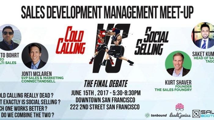 6/15 – Cold Calling Vs. Social Selling SF Meetup