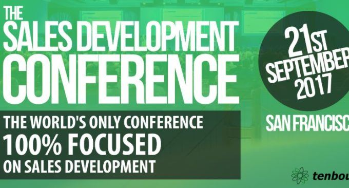 Join The #salesdev17 Conference Sept 21st In SF!