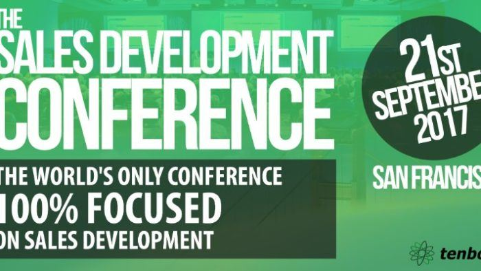 Join The Sales Development Conference: Sept 21st In SF!