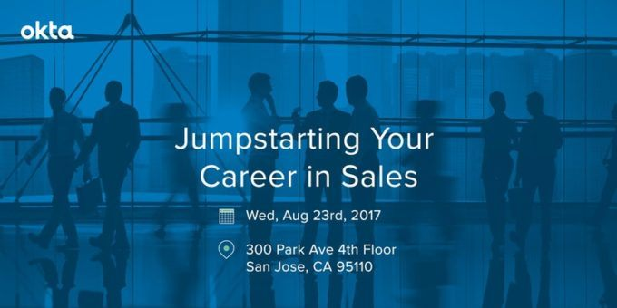 Jumpstart Your Career In Sales (Event At Okta With James Nielsen)