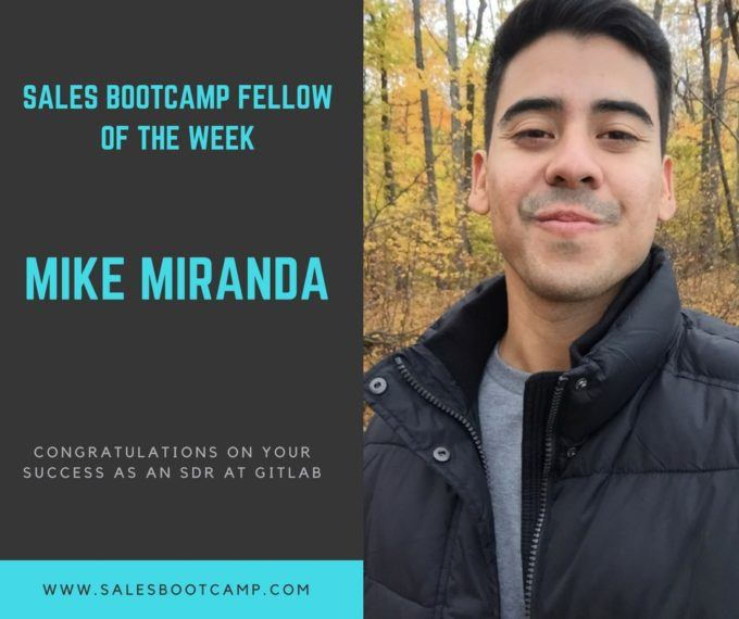 Fellow Of The Week: Mike Miranda