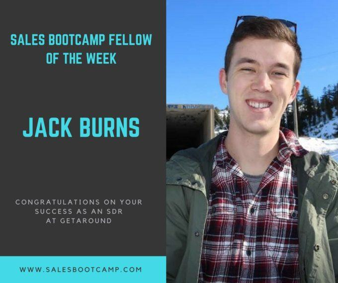 Fellow Of The Week: Jack Burns