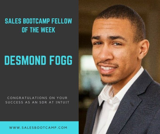 Fellow Of The Week: Desmond Fogg