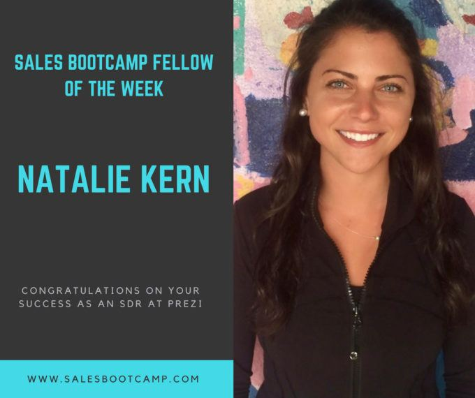 Fellow Of The Week: Natalie Kern