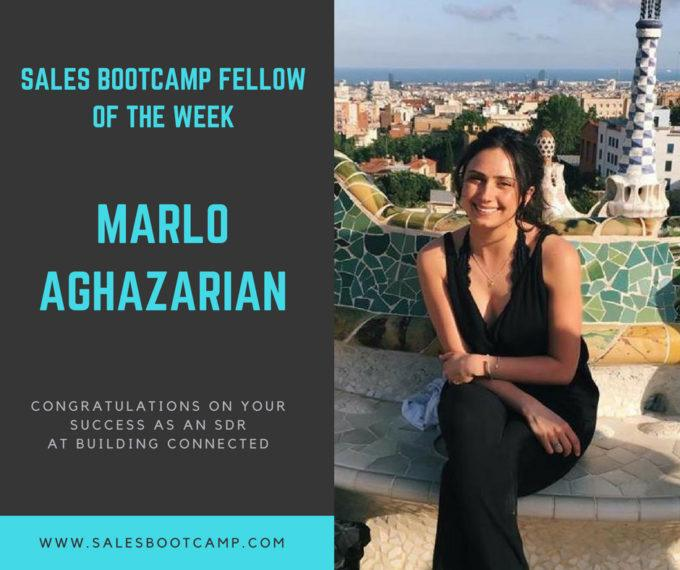 Fellow Of The Week: Marlo Aghazarian