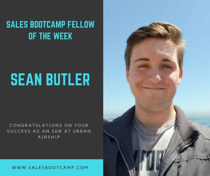 Fellow Of The Week: Sean Butler